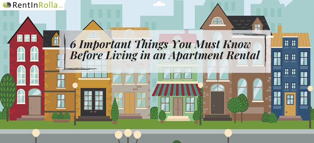 6 Important Things You Must Know Before Living in an Apartment Rental - RIR